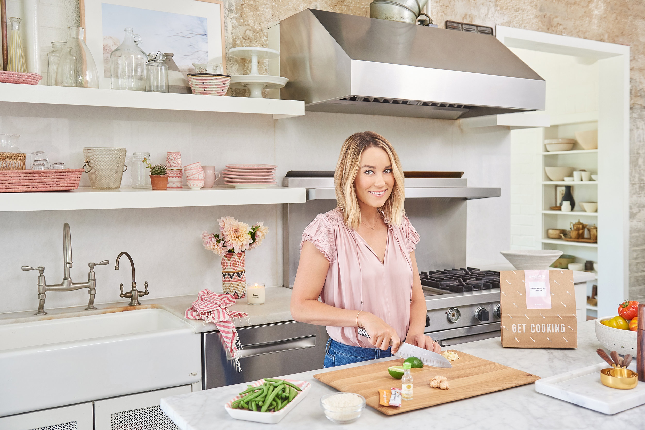Lauren Conrad: HelloFresh