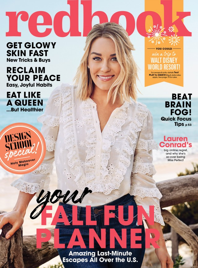 Lauren Conrad for Redbook Magazine