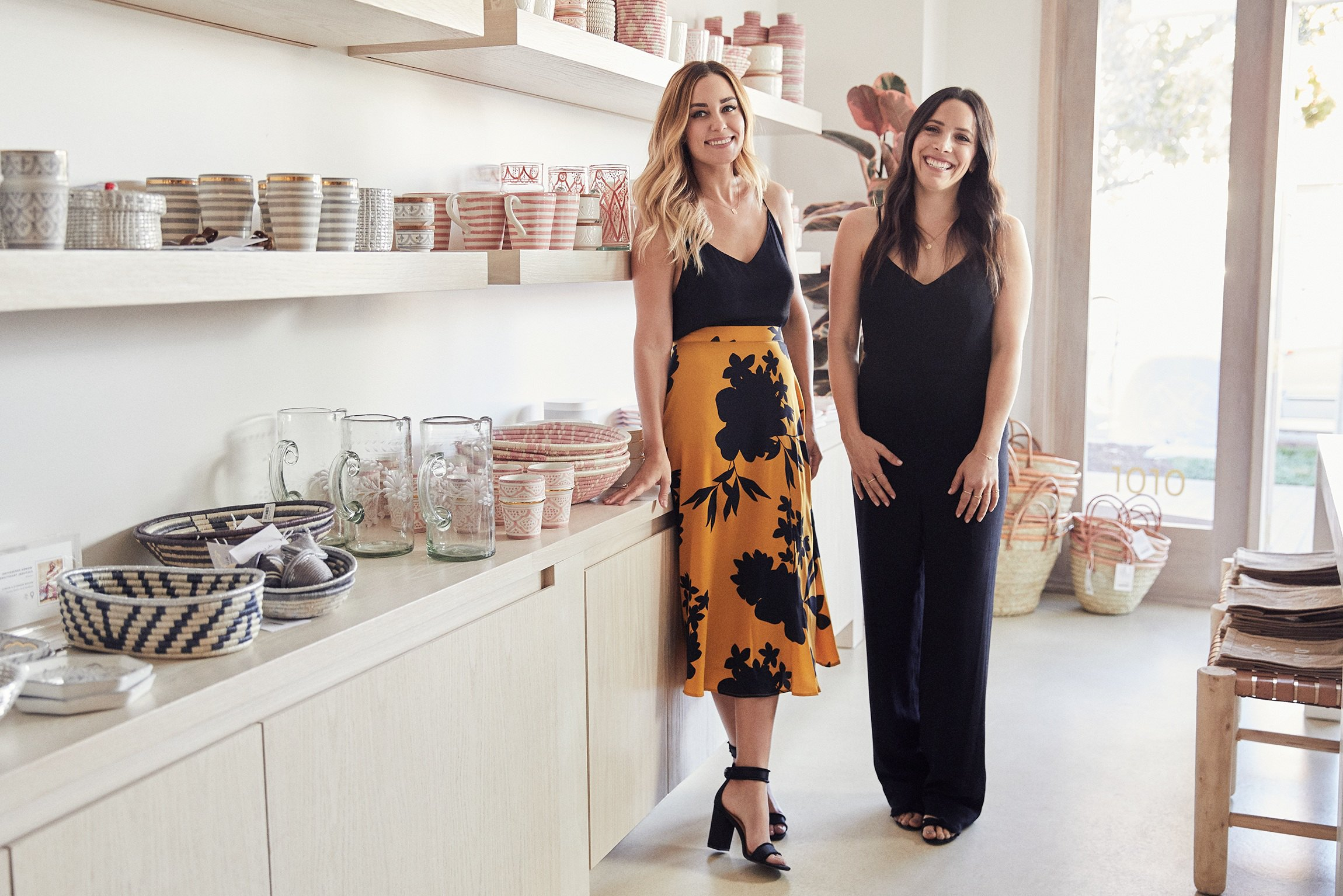 Lauren Conrad and Hannah Skvarla of The Little Market are Changing The World
